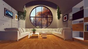 Słoneczne duże mieszkanie